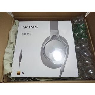 ソニー(SONY)のSONY MDR-1AM2-S シルバー ハイレゾ対応 ステレオヘッドホン (ヘッドフォン/イヤフォン)