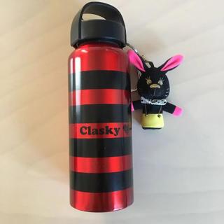 クラスキー(Clasky)のクラスキー♡clasky うさぎチャーム付き水筒 (タンブラー)