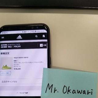 アディダス(adidas)のYeezy Boost 350 V2 27cm(スニーカー)