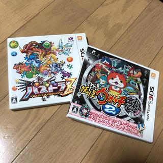 ニンテンドー3DS(ニンテンドー3DS)のパズドラZ 妖怪ウォッチ元祖 3DS(携帯用ゲームソフト)