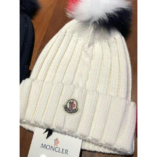 MONCLER - MONCLER モンクレール ニットキャップ 帽子 ニット帽^_^