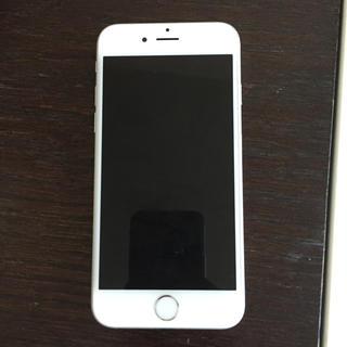 アップル(Apple)のiPhone6 64G シルバー(スマートフォン本体)