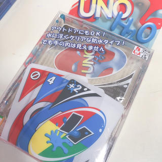 ataminさん専用 UNO 防水 新品(トランプ/UNO)