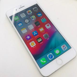 アップル(Apple)の● iPhone8 Plus 256GB シルバー au(スマートフォン本体)