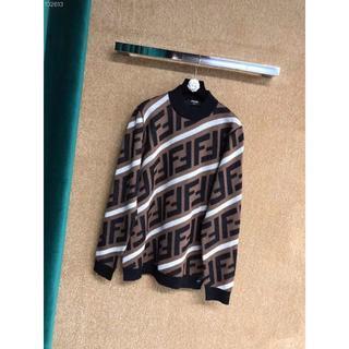 フェンディ(FENDI)のFENDI ベージュコットンスウェットシャツ48(パーカー)