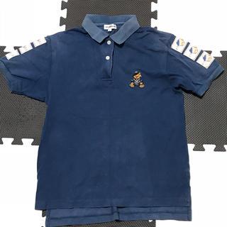 アンプリュスアン(un plus un)の送料込!un plus un ポロシャツ  くまさん(Tシャツ(半袖/袖なし))