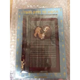 ディズニー(Disney)のディズニーアコモデiPhoneケースわんわん物語レディレトロチェック 新品箱付き(iPhoneケース)