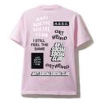 アンチ(ANTI)のアンチソーシャル 新作Tシャツ(Tシャツ/カットソー(半袖/袖なし))