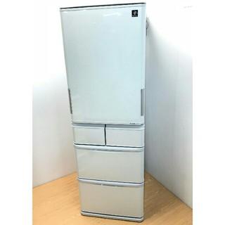 シャープ(SHARP)の冷蔵庫 シャープ プラズマクラスター どっちもドア ecoモード LED(冷蔵庫)