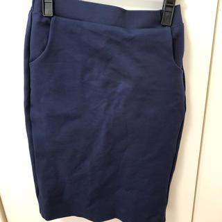 ニーナミュウ(Nina mew)の新品 ニーナミュウ ゴム スウェット スカート(ひざ丈スカート)