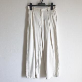 ガリャルダガランテ(GALLARDA GALANTE)のドローイングナンバーズ パンツ サイズ36 ホワイト(カジュアルパンツ)