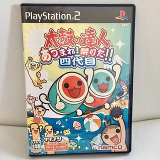 プレイステーション2(PlayStation2)の太鼓の達人4 ゲームソフト(家庭用ゲームソフト)