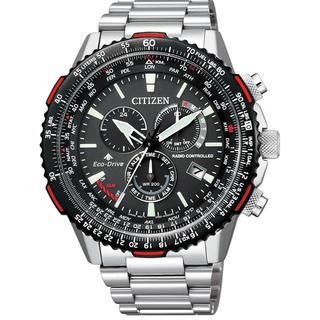 シチズン(CITIZEN)のほぼ新品 シチズン プロマスター ダイレクトフライト 電波ソーラー腕時計(腕時計(アナログ))