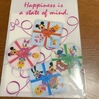ディズニー(Disney)の値下げ❣️ファイル付きレターセット  2セット(ノート/メモ帳/ふせん)