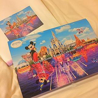 ディズニー(Disney)のディズニー 壁掛け カレンダー 2019年(カレンダー/スケジュール)