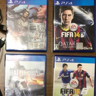 ps4  ソフト5本セット(家庭用ゲームソフト)