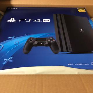 プレイステーション4(PlayStation4)のPlayStation4 Pro 新品未開封(家庭用ゲーム本体)