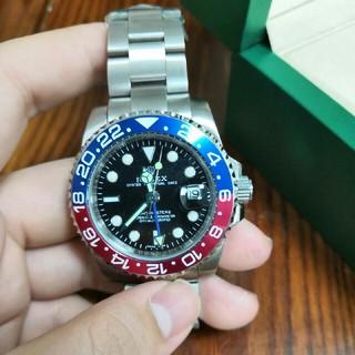 ロレックス ROLEX GMTマスターⅡ 126710BLRO ペプシ 赤青 (腕時計(アナログ))