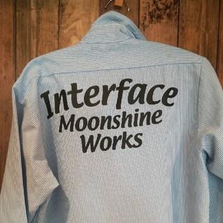 インターフェイス(INTERFACE)のシャツ ストライプ M オーバーサイズ(シャツ)