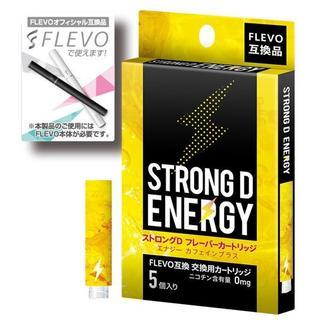 電子タバコ FLEVO交換用カートリッジ 5本入り ストロングDフレーバー f5(タバコグッズ)