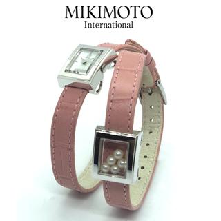 ミキモト(MIKIMOTO)のミキモト ダブルブレスウォッチ(腕時計)