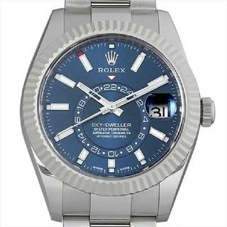 ロレックス(ROLEX)のロレックス スカイドゥエラー 326934 ブルー 未使用 メンズ 腕時計(腕時計(アナログ))
