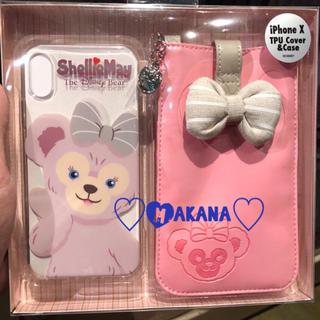 ディズニー(Disney)の香港ディズニー❣️iPhone X 携帯ケース シェリーメイ♡(iPhoneケース)