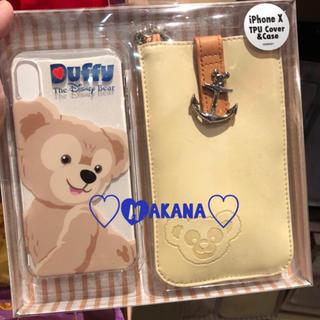 ディズニー(Disney)の香港ディズニー❣️iPhone X 携帯ケース ダッフィー ♡(iPhoneケース)