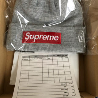 Supreme - SUPREME 18AW New Era Box Logo Beanie