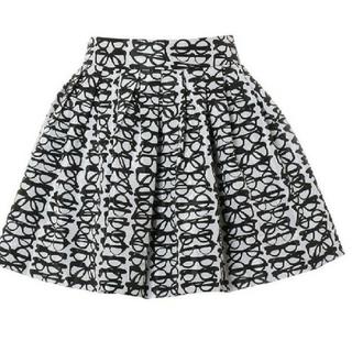 アリスアンドオリビア(Alice+Olivia)のAlice+olivia♥メガネ柄スカート(ミニスカート)