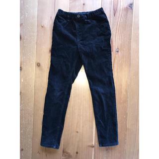 ジーユー(GU)のGU  パンツ ブラック 冬 130(パンツ/スパッツ)
