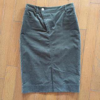 ガリャルダガランテ(GALLARDA GALANTE)のGALLARDAGALANTE コーデュロイタイトスカート(ひざ丈スカート)