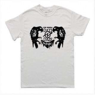 ロック系 鳥イラスト 半袖 Tシャツ git15(Tシャツ/カットソー(半袖/袖なし))