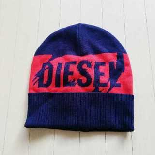 ディーゼル(DIESEL)の新品未使用タグ付!DIESEL ロゴ ニット帽 男女兼用(ニット帽/ビーニー)