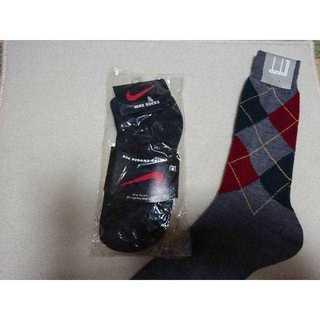 ナイキ(NIKE)の新品未使用  NIKE  dunhill 靴下(ソックス)