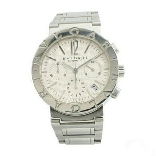ブルガリ(BVLGARI)の新品 ブルガリ BVLGARI メンズ 文字盤 ホワイト 自動巻き 腕時計(腕時計(アナログ))