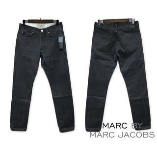 マークバイマークジェイコブス(MARC BY MARC JACOBS)の新品 MARC BY MARC JACOBS ウォッシュドブラックデニム W30(デニム/ジーンズ)