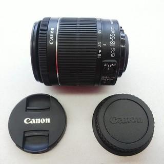 キヤノン(Canon)のほぼ未使用!Canon EF-S18-55mm F3.5-5.6 IS STM(レンズ(ズーム))