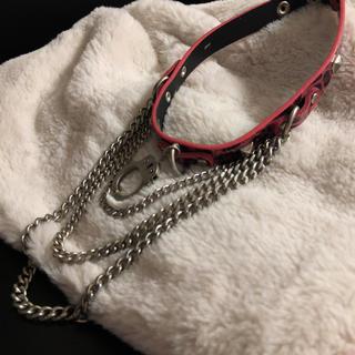 チュチュア(tutuHA)のtutuHA 手錠チョーカー(ネックレス)
