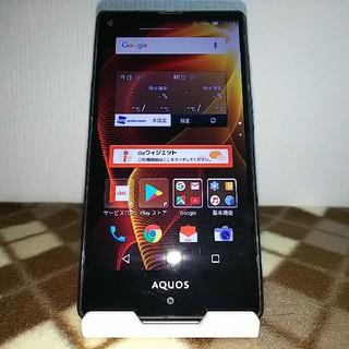 シャープ(SHARP)のau AQUOS SERIE mini SHV33 ブラック(スマートフォン本体)