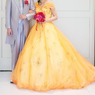 YUMI KATSURA - 美品 カラードレス 美女と野獣 ベル風 桂由美