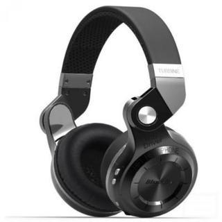 ワイヤレスヘッドホン  折畳回転式 黒(ヘッドフォン/イヤフォン)