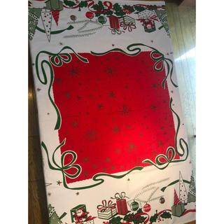 クリスマス テーブルクロス(テーブル用品)