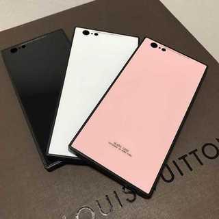 大人気!スクエア型iPhoneカバー!iPhone6/6s用 ブラック(iPhoneケース)