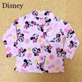 ディズニー(Disney)のディズニー ミニー ふわふわ あったか パジャマ 上だけ! 110 女の子(パジャマ)