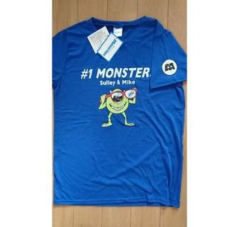 ディズニー(Disney)の【新品】男女兼用  モンスターズ インク Tシャツ ブルー(Tシャツ(半袖/袖なし))