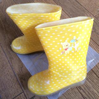 ディズニー(Disney)のディズニー キッズ  ジュニア レインブーツ 18cm ボーイズ ガールズ 幼児(長靴/レインシューズ)
