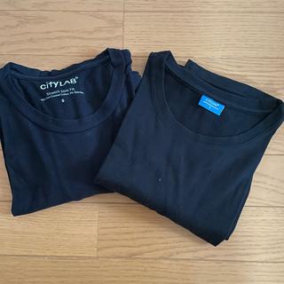シティーラブ(CITY LAB)のcityLAB シティーラブ ストレッチスリムフィットTシャツ 2枚セット(Tシャツ/カットソー(半袖/袖なし))