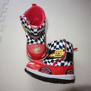 ディズニー(Disney)のカーズ13cmスノーブーツ(ブーツ)