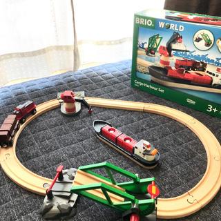 ブリオ(BRIO)のブリオレールウェイ カーゴハーバーセット(電車のおもちゃ/車)